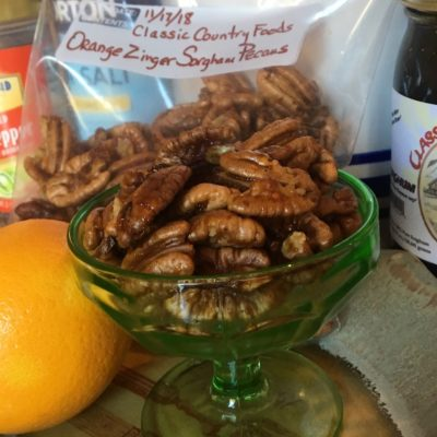 Classic Country Foods Orange Zinger Sorghum Pecans