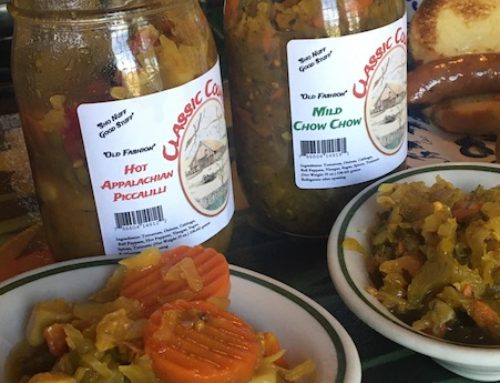 Piccalilli and ChowChow make simple, but tasty sides for your meals