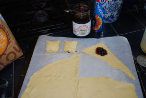 Classic Country Foods making Cherry Butter Pockets